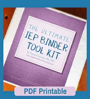 The Ultimate IEP Binder Toolkit Free Download