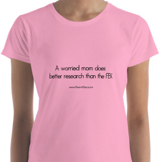 A worried mom does better research than the FBI. T-shirt
