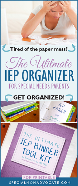 Ultimate IEP Binder Tool Kit, IEP Organizer