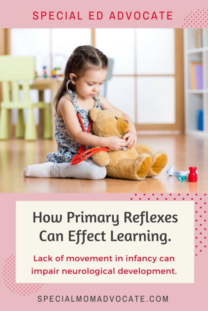 How Primary Reflexes Impact Learning