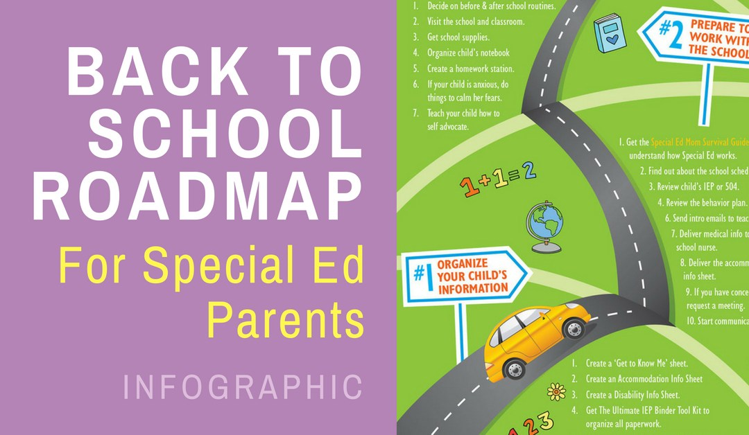 2019 Back to School Roadmap for Special Ed Parents
