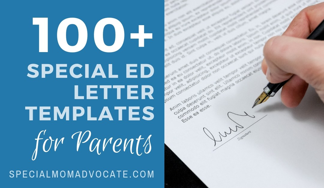 100+ Special Ed Letter Templates for Parents