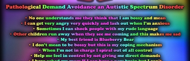 Today is Pathological Demand Avoidance (PDA) Awareness Day