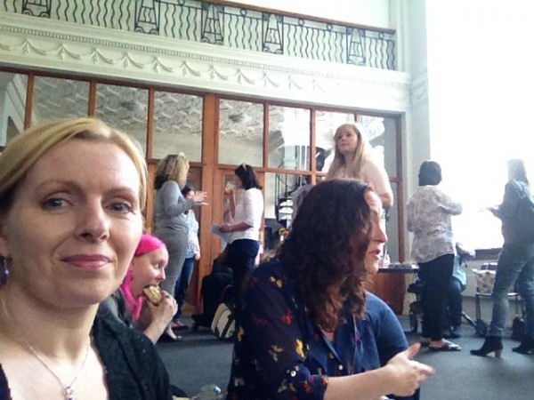 Tania at EDS awareness event