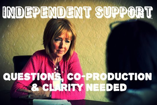 independent support