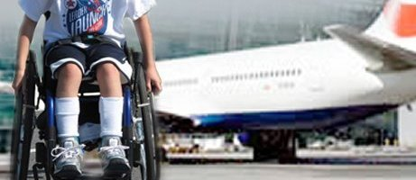Air travel with children who need special assistance