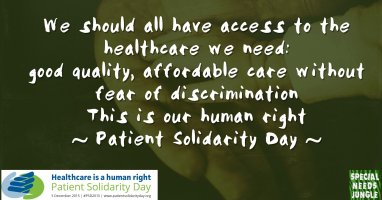 Patient Solidarity Day 2015