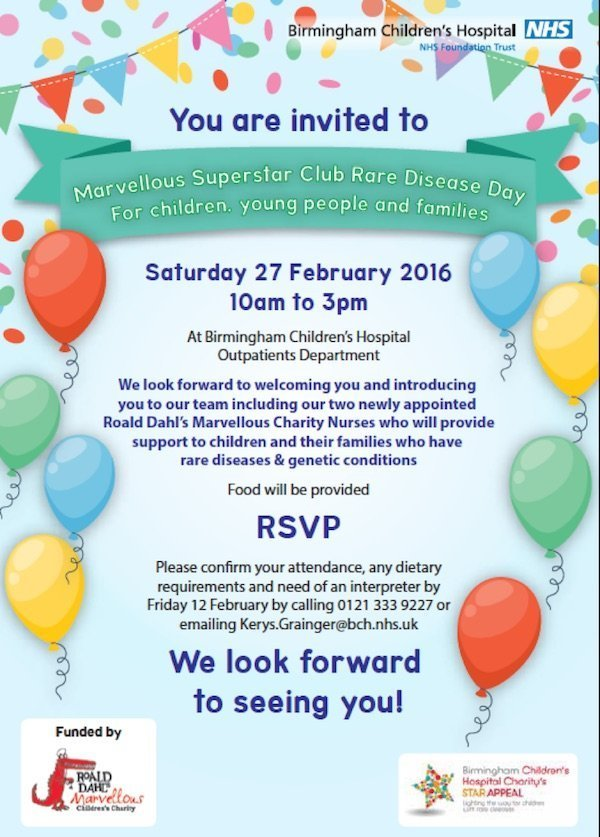 rare disease day event