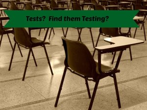 tests are testing