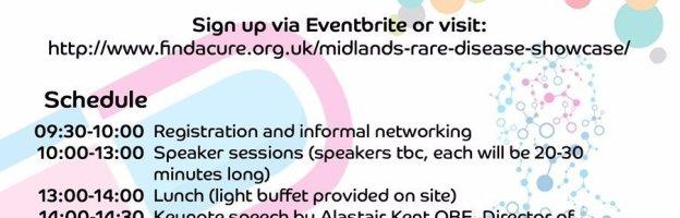 Showcasing Rare Diseases in Birmingham