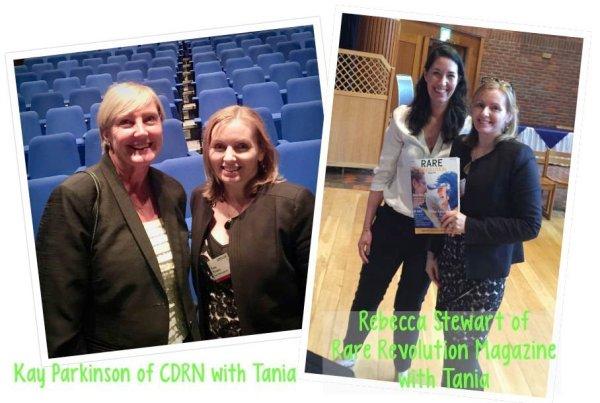 Kay Parkinson & Rebecca Stewart with Tania