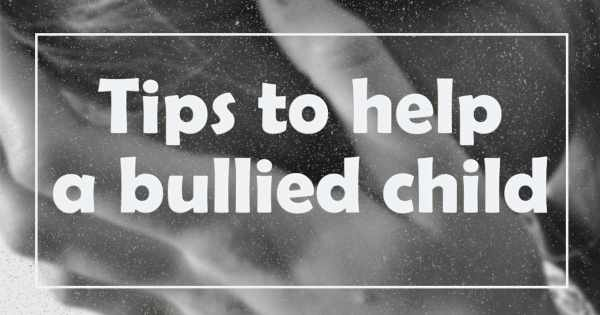 Tips to help a bullied child: Anti-Bullying Week