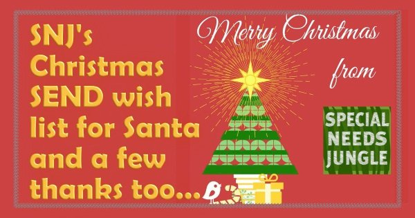 SNJ's Christmas wish-list for Santa and a few thanks...