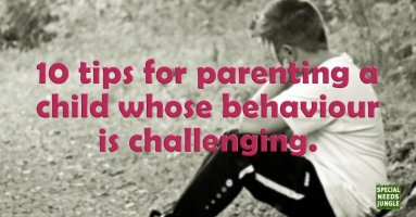 10 tips for parenting a child whose behaviour is challenging