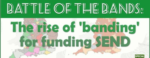 Battle of The Bands: The rise of 'banding' for funding SEND