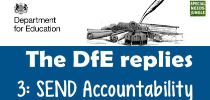 The DfE replies: Accountability in SEND