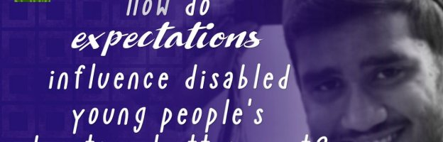 How do expectations influence disabled young people's educational attainment?