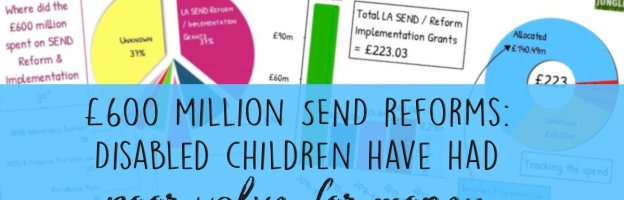 £600 million SEND reforms: Disabled children have had poor value for money