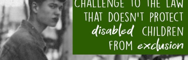 Challenge to the law that doesn't protect disabled children from exclusion