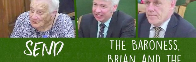 SEND Inquiry: The Baroness, Brian, the man in the middle and much more..