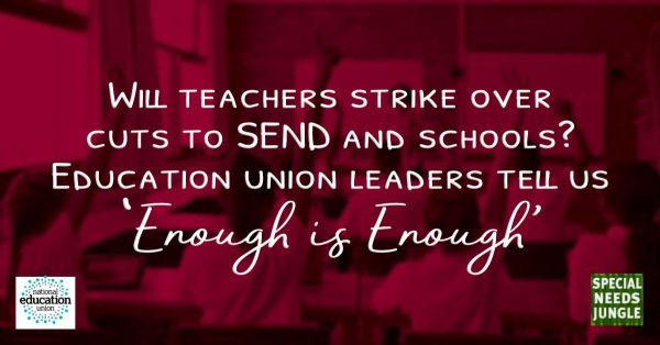 Will teachers strike over cuts? Education union leaders tell us Enough is enough