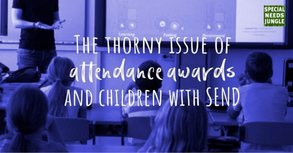 children in classroom: The thorny issue of attendance awards and children with SEND