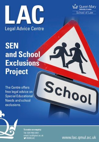 SEN and school exclusions project