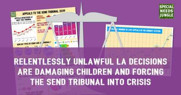 Relentlessly unlawful LA decisions are damaging children and forcing the SEND Tribunal into crisis