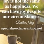 The Source of Our Joy