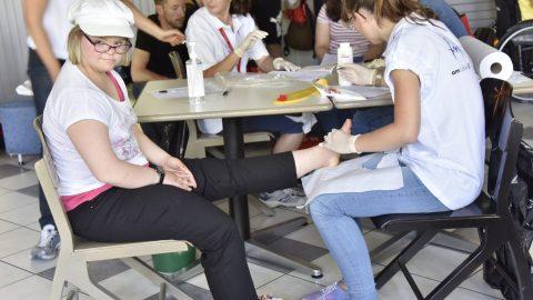Programme Santé Jeux Nationaux Mâcon 2015 Special Olympics France