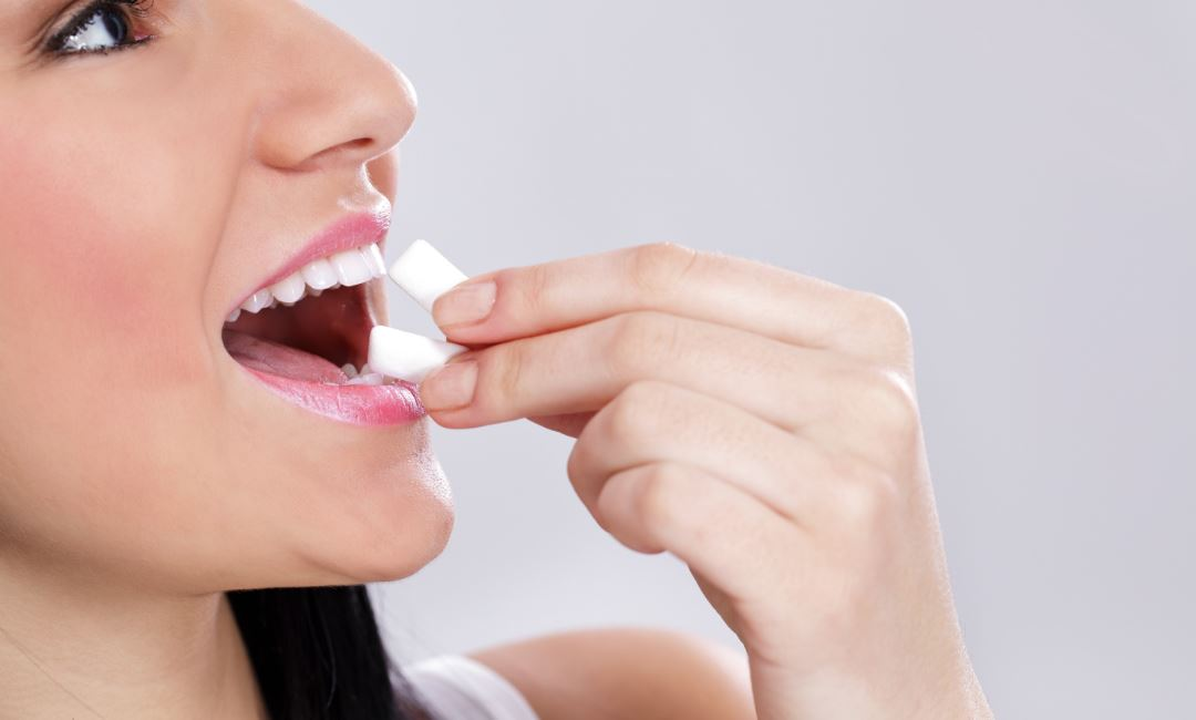 teeth whitening in mouth