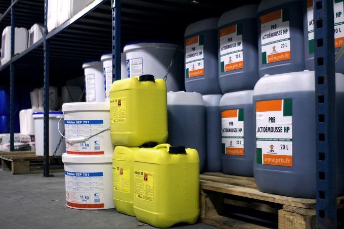 produits de protection, nettoyage, traitement pour façades, terrasses, dallages, toitures
