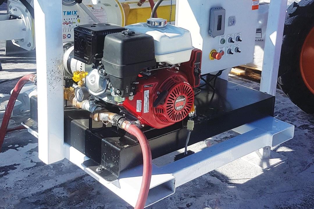 D2W Gas Powered Hydraulic Drive