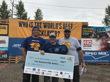 2019 SPEC MIX BRICKLAYER 500 Alberta Regional 2nd Place Winner, Richard McDougall and Miles McDougall