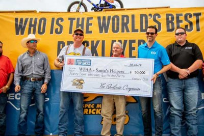 Bikes for Charity Check