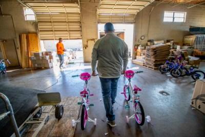 Bricks, Blocks and Bags for Bikes