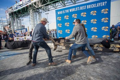 Blaklader Pants Pull at the 2020 SPEC MIX BRICKLAYER 500