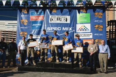 2010 SPEC MIX BRICKLAYER 500