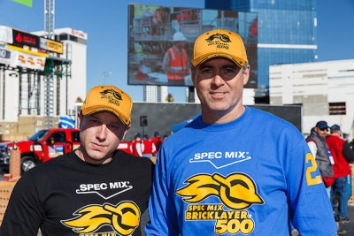 2016 SPEC MIX BRICKLAYER 500