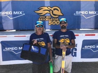 SPEC MIX BRICKLAYER 500 OKLAHOMA REGIONAL SERIES - 3RD PLACE