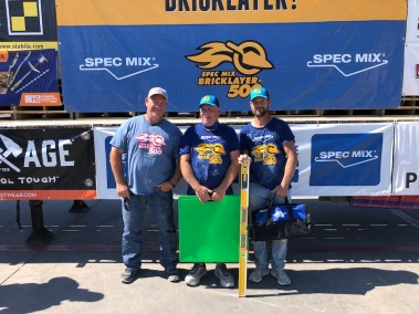 SPEC MIX BRICKLAYER 500 NORTH TEXAS REGIONAL SERIES - 2ND PLACE