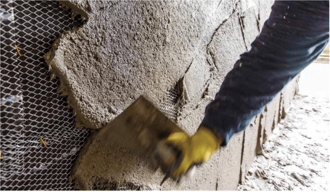Fiber Base Coat Preblended Stucco