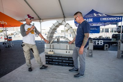 H&B during the world of concrete in las vegas 2021