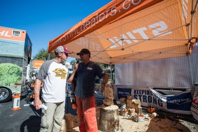 Interview with STIHL during World of Concrete