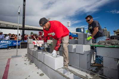 MCAA's Fastest Trowel, a yearly event during the world of concrete convention