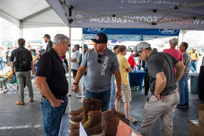 Iron Age, sponsor of the SPECMIX BRICKLAYER 500