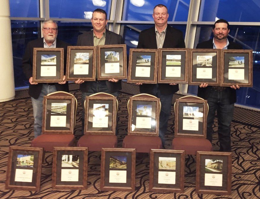SPEC MIX takes home 16 awards at the UMCA Golden Trowel Awards