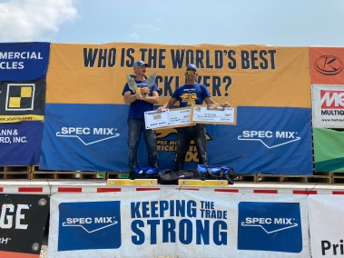 SPEC MIX BRICKLAYER 500 Ohio Regional Series First Place Winners
