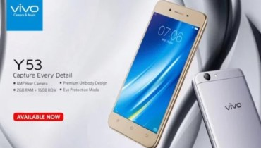 Vivo Y53 Specifications, Price and Features (Pros and Cons)