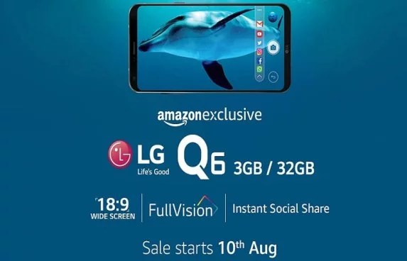 LG Q6 Specifications, Price and Release Date in India